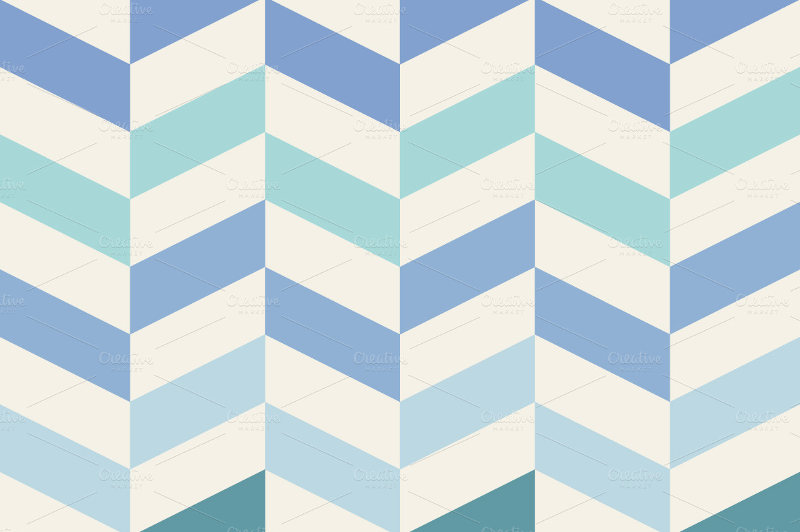 Set of blue geometric patterns patterns on creative market Geometric patterns