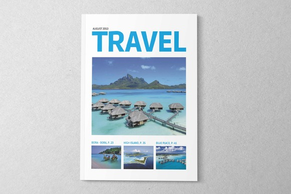 Magazine Editorial Template 03