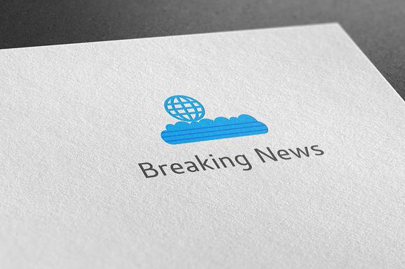 Creative Breaking News Logo