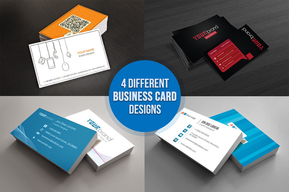 4 Variant Business Card
