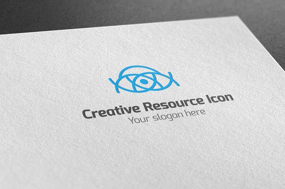 Creative Resource Icon Logo