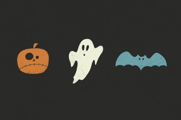Halloween Pack Ghosts Pumpkins Bats