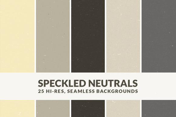Speckled Neutrals