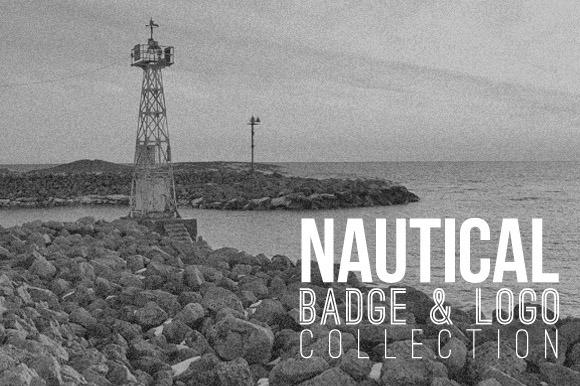 Nautical Badge Logo