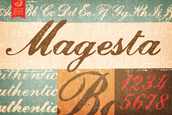 Magesta Script Webfonts