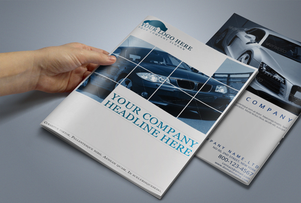 Automobile brochure template brochure templates on for Automobile brochure design