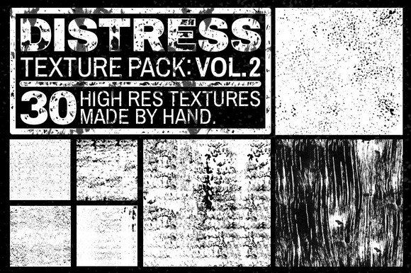Distress Texture Pack: Vol. 2 - Textures