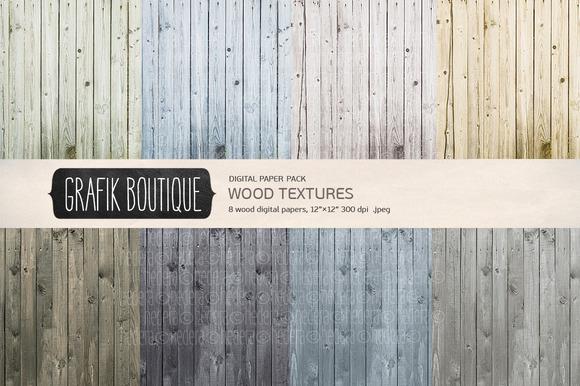 Wood Textures Digital Background