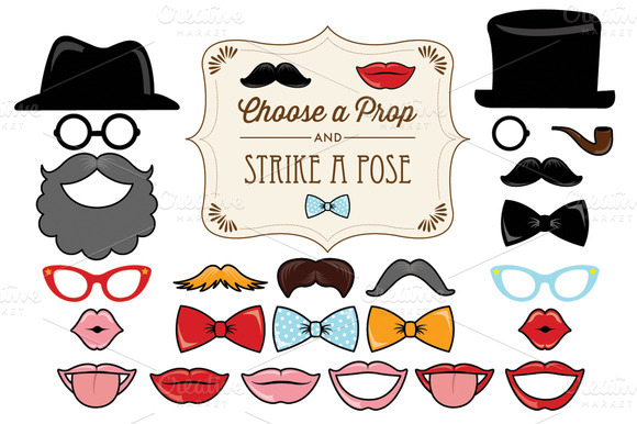 photo booth props template free download - photo booth props template download torrent designtube