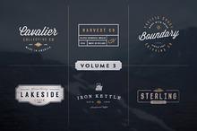 Vintage Logo Kit:  Volume Three