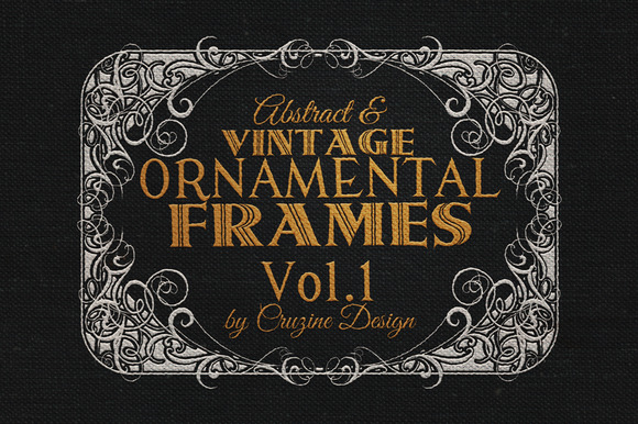 10 Frames Vol.1 - Vintage Ornament - Objects