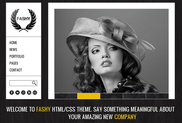 Fashy Fashion HTML Template