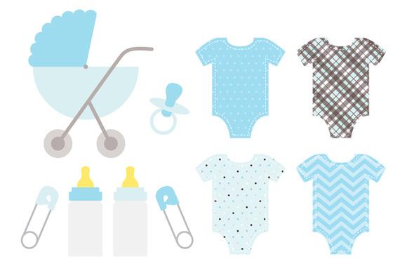 Baby Boy Blue Set