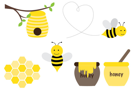 Honey Bee Set
