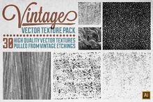 Vintage Vector Texture Pack