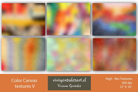Color Canvas Textures V