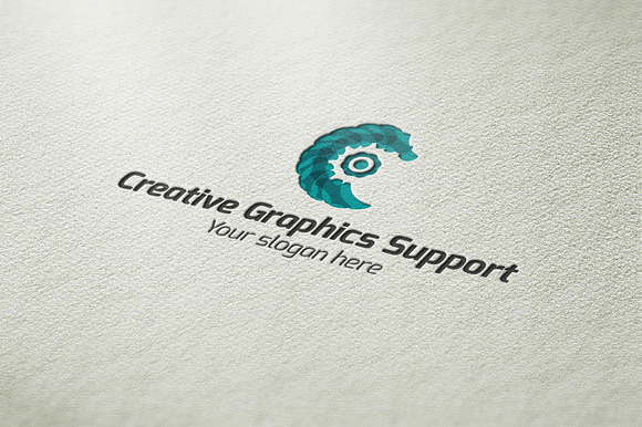 Creative Graphics Support Logo