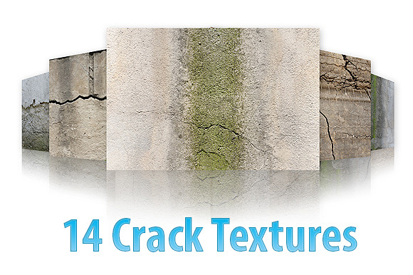 14 Textures With Cracks