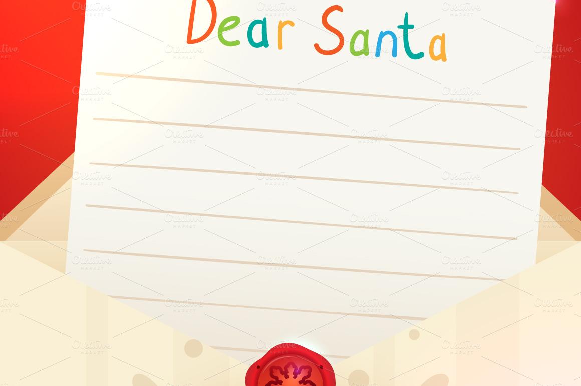 ... Letter Template Christmas_letter_to_santa_ ... Blank Letter From Santa
