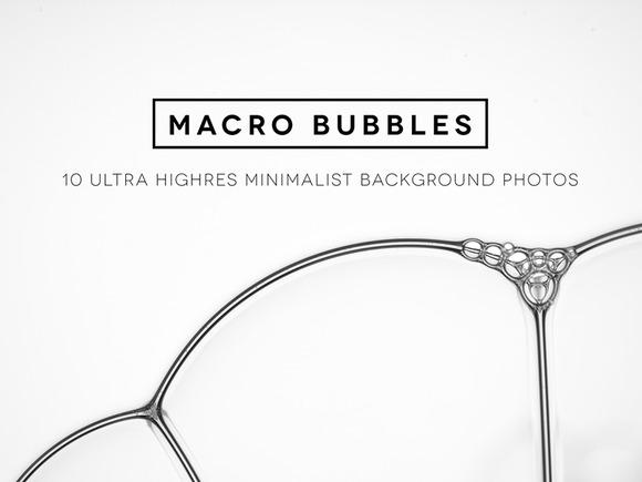 MacroBubbles 10 Unique Backgrounds
