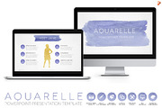 Aquarelle Powerpoint Templa-Graphicriver中文最全的素材分享平台
