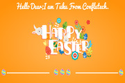 Happy Easter- Web Design Te-Graphicriver中文最全的素材分享平台