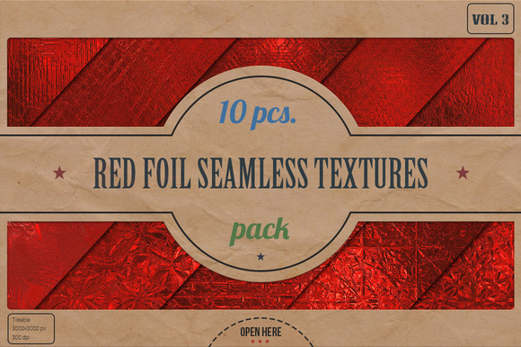 Red Foil HD Textures Pack v.3 - Textures