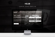 Heloo - Coming Soon Templat-Graphicriver中文最全的素材分享平台