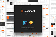 Basement Ecommerce-Graphicriver中文最全的素材分享平台