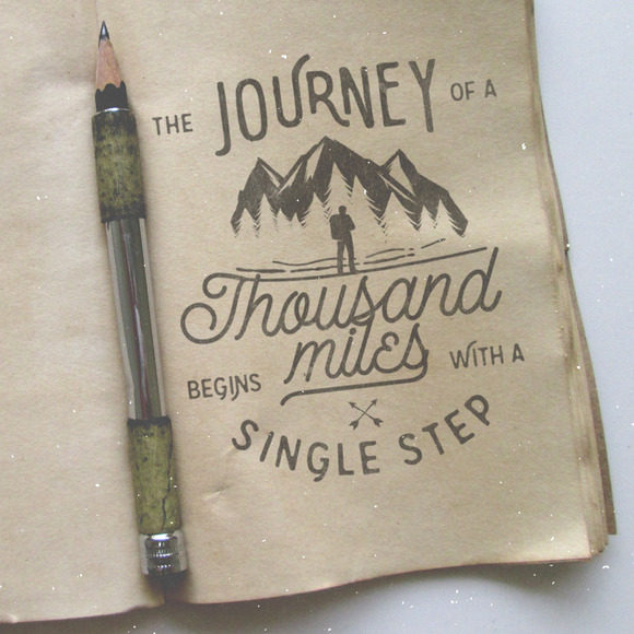 A journey of a thousand miles... - Illustrations