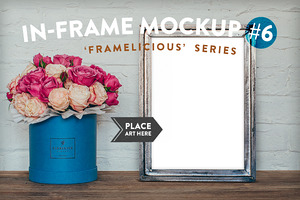 Framelicious. In-Frame Mockup #6