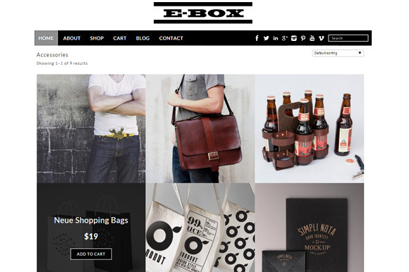 E-Box Woocommerce Theme