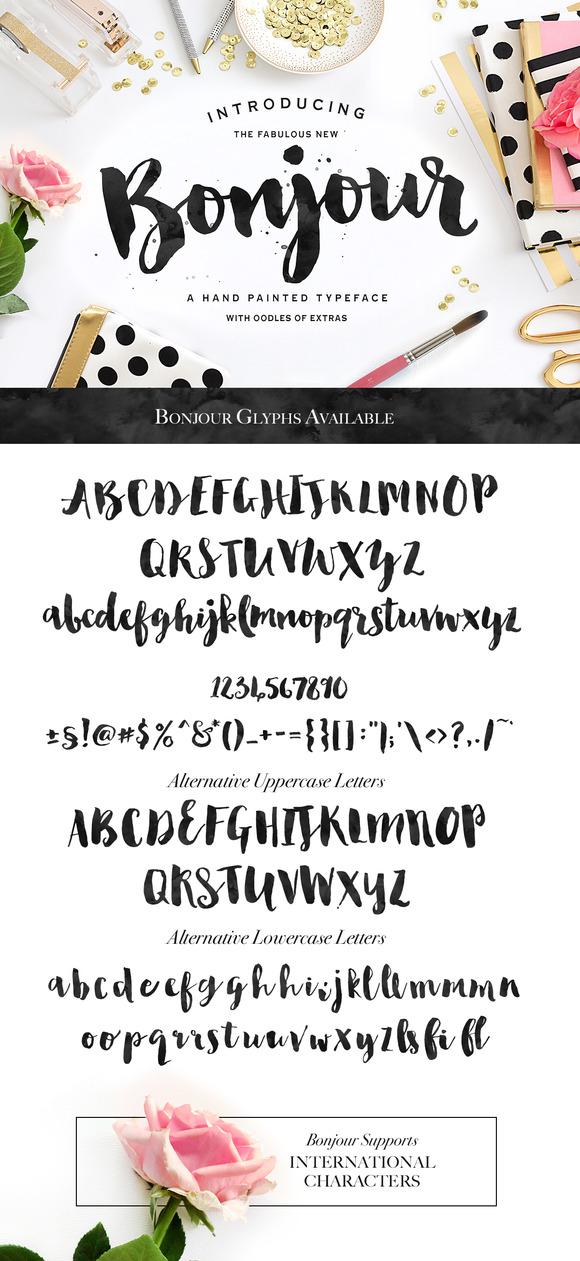 Premium elegant script fonts layerbag