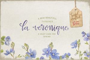 La Veronique Script (intro 20% off)