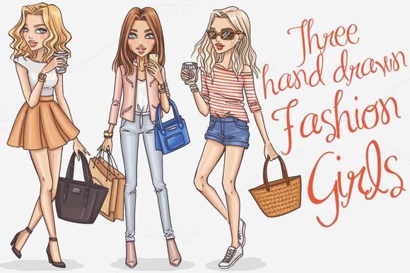 Fashion Girls 0.2 - Illustrations