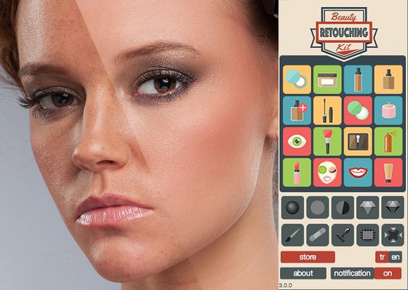 Beauty Retouching Kit 3.0.1 for Photoshop CS6 - CC 2015