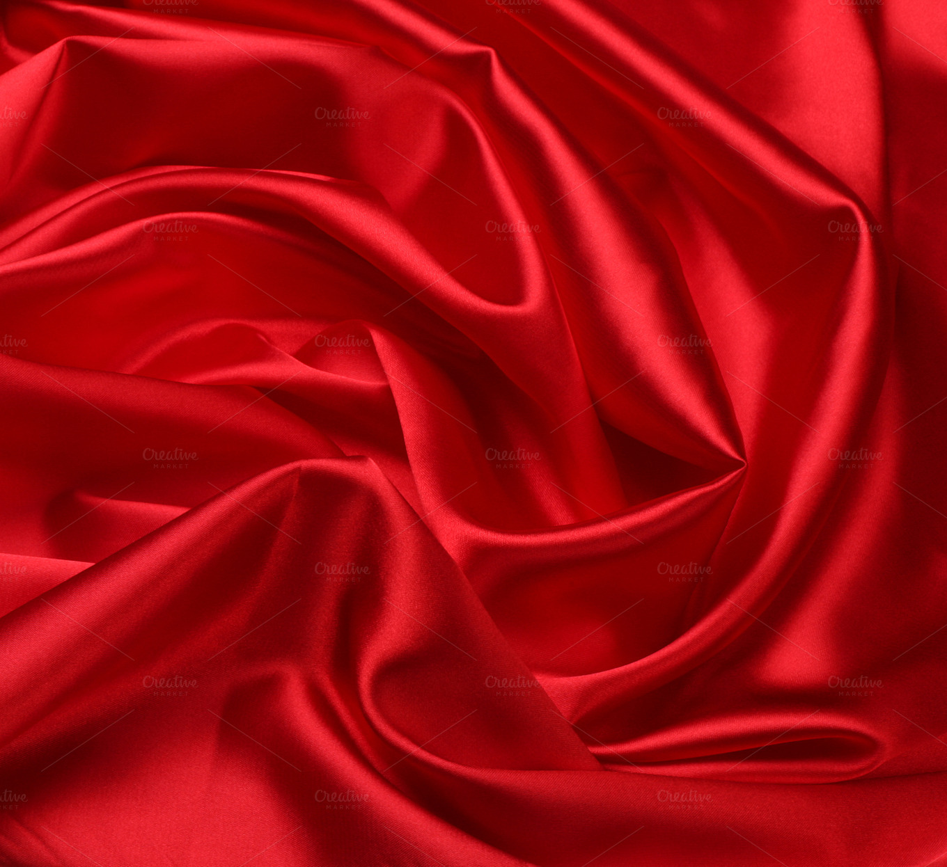 red silk fabric background ~ Abstract Photos on Creative