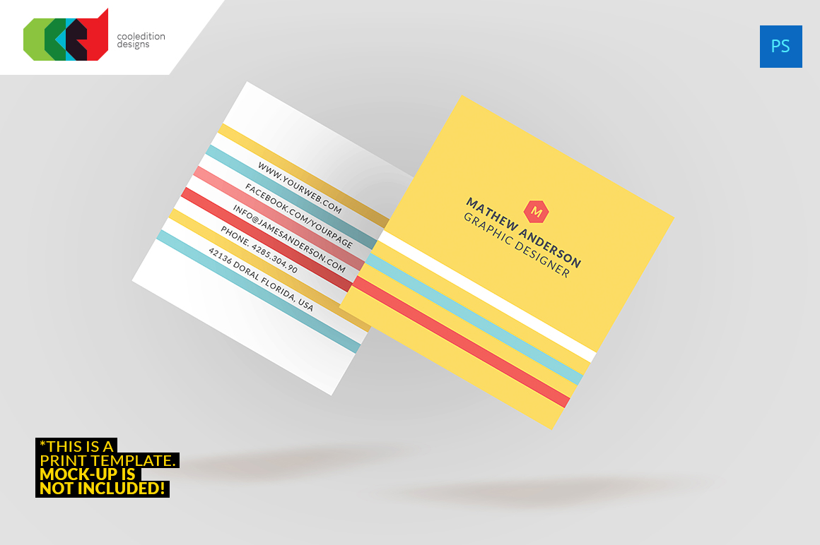 Square Business Card 40 Business Card Templates on