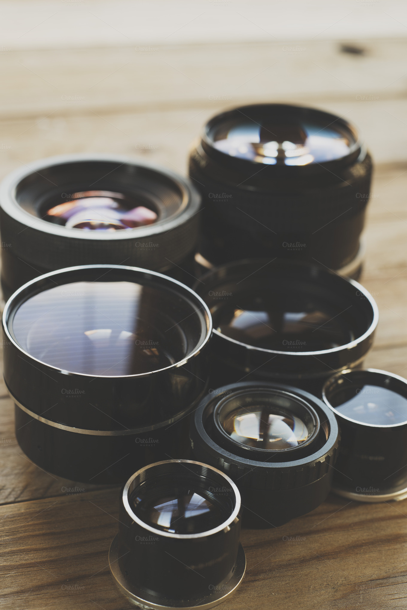 Lens technology photos on creative market for Best lens for furniture photography