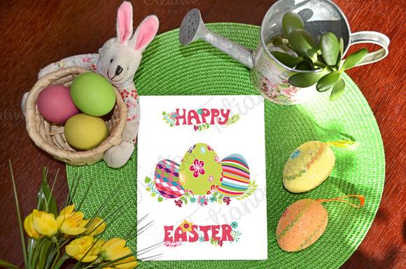 Easter pattern eggs set 01.Vector - Illustrations - 5