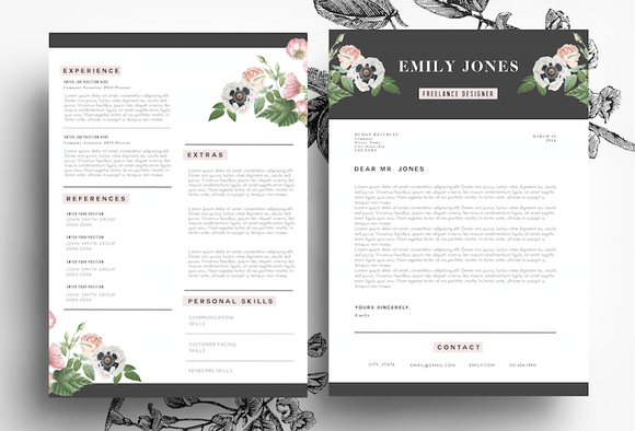 20 resume templates that look great in 2015 creative