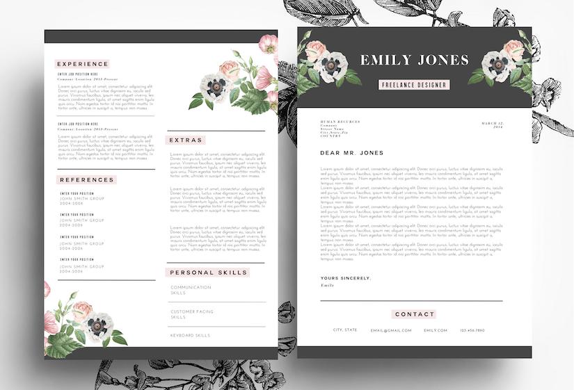 creative resume psd word resume templates on