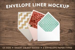 Envelope Liner Mockup