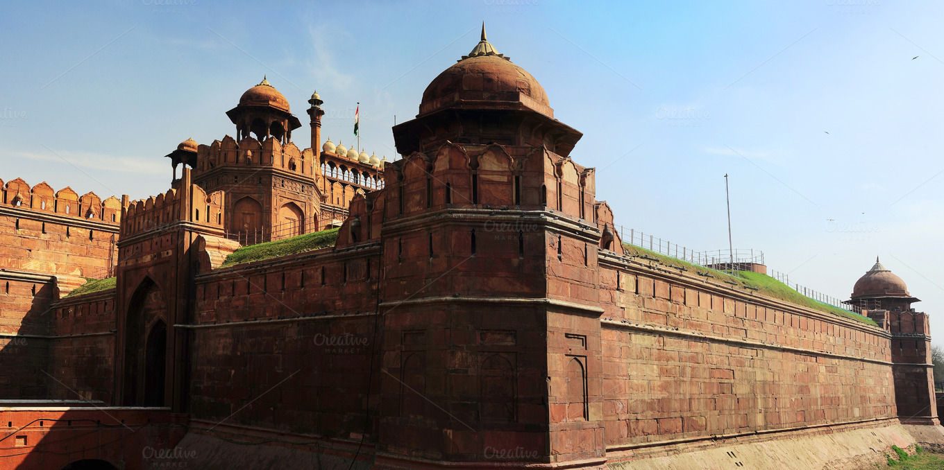 Red Fort India Delhi Architecture Photos On Creative