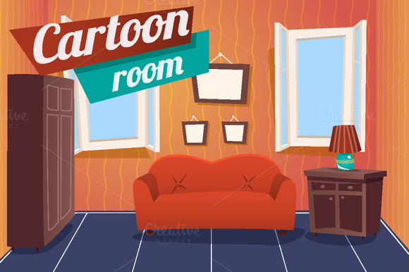 Kitchen Furniture Interior Graphics On Creative Market