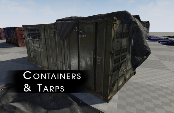 Game & Film - Containers & Tarps