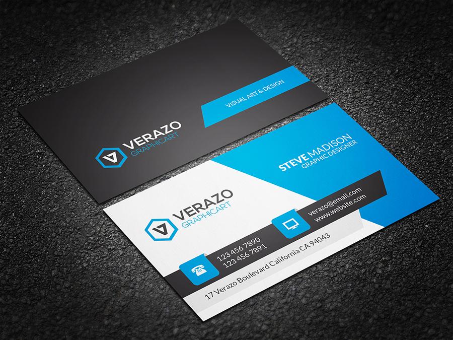 modern corporate business card business card templates. Black Bedroom Furniture Sets. Home Design Ideas