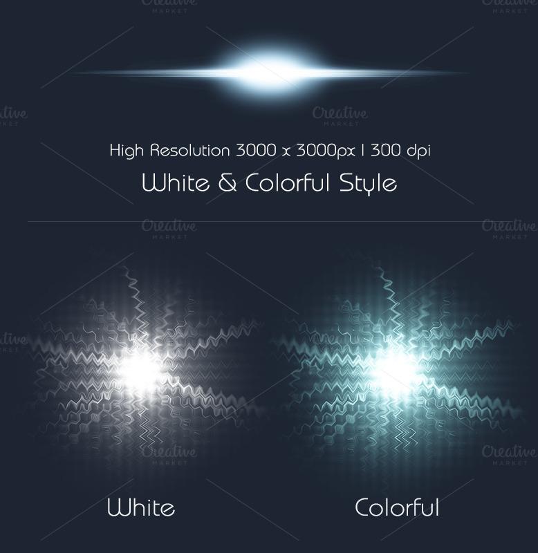 Optical Flare Transparent 20 Optical Flares Preview 1 o