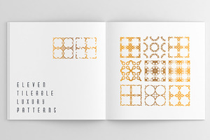 11 Tileable Luxury Patterns