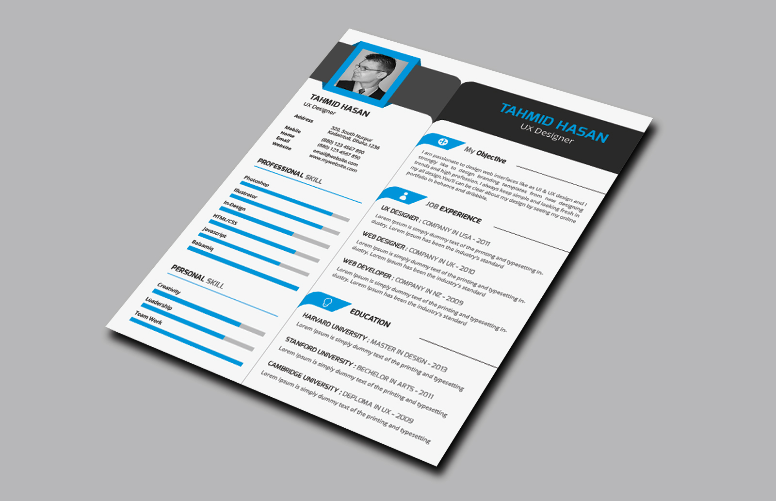 corporate resume with business card resume templates on